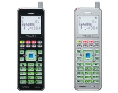 デジタルコードレス電話機のシステム図