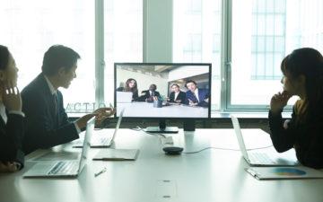 Web会議の様子